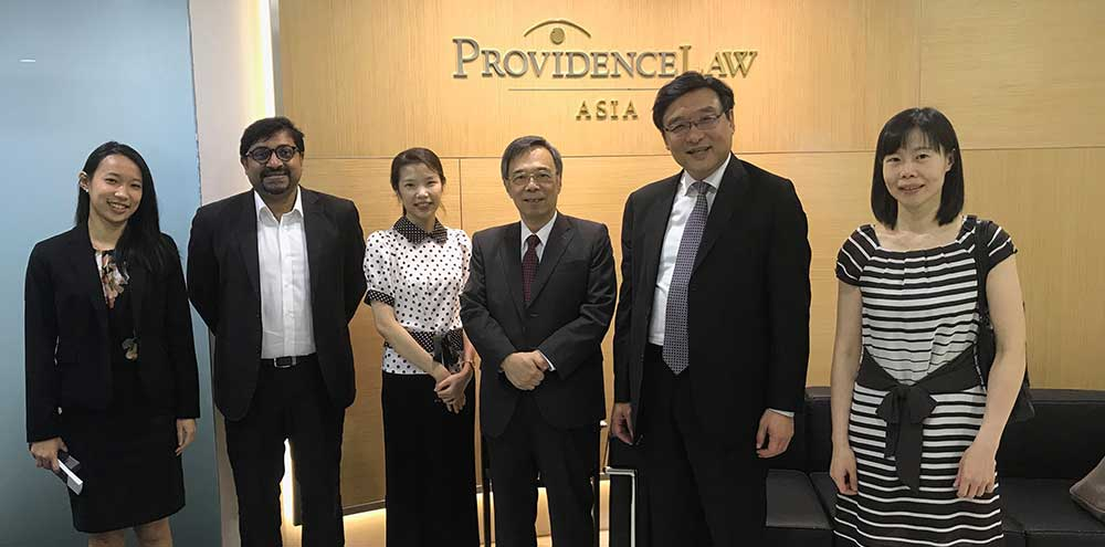 Providence Law Asia welcomes a delegation from the CAA