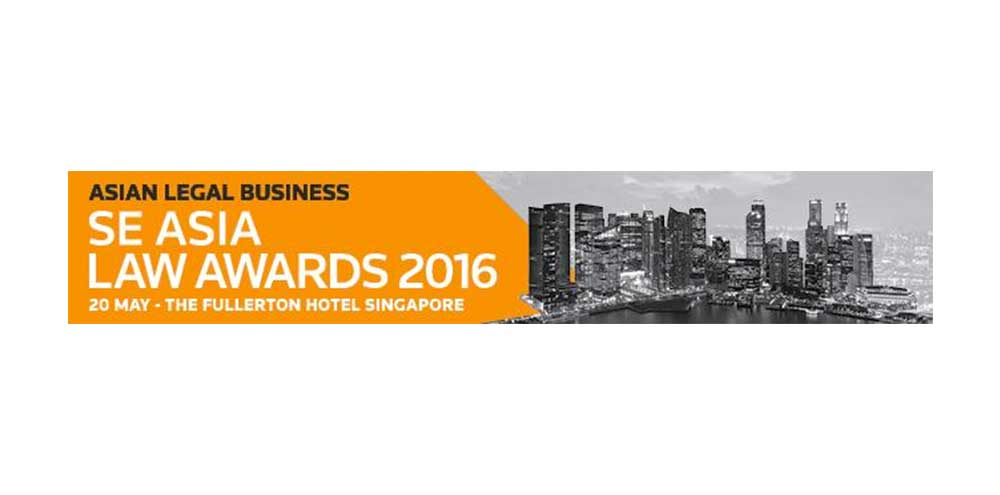 Providence Law Asia a finalist in 2016 Asian Legal Business South East Asia Law Awards